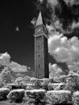 callaway clock tower--infrared by rare-twinkie