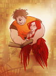 Tyson and Ella by eighthSun