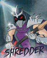 Shredder by Bleu-Ninja