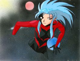Space-Pirate Ryoko fancel by Linake
