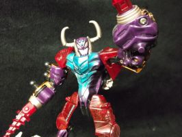 Beast Wars Scavenger,The face of a true madman by forever-at-peace