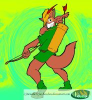 robin hood-colored- by ben-ben