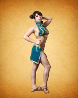 Chun Li x Fiore - Bathing Suit Edition by miss-gidget