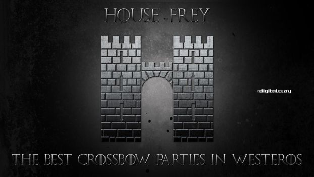 House Frey by mrminutuslausus