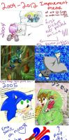 Through the Years of Crap Art by CNat