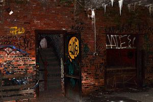 Abandoned Service Elevator by S-H-Photography
