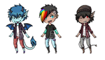 Chibi Adopts - OPEN by SkyLandWarrior