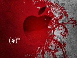apple red by NeonAliph