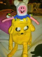 Jake The Dog and Finn The Human by Angelicdew