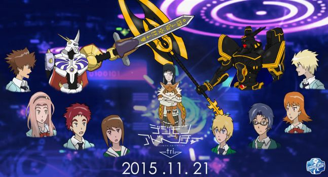 Digimon Adv. Tri Promotional Poster by Omnimon1996