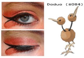 Pokemakeup 084 Doduo by nazzara