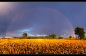 Summertime Rainbow Scenario by rekokros