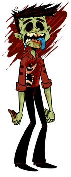 Zombie Wes by maskarie