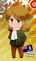 Chibi Falklands Character Card by FlopyLopez