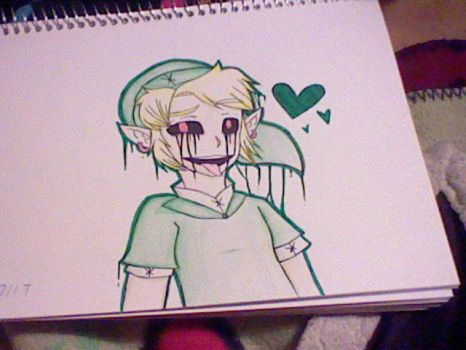 Ben Drowned (Redraw) by ADerpyHeart