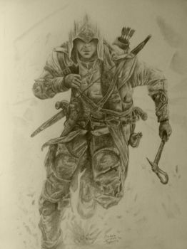 Connor - Assassin's Creed 3 - Finished by MikamiMikaeru
