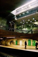 Monk - Montreal's Metro by John-Furie-Zacharias