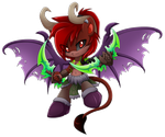 Comm: chibi cosplay for Makronette by Extra-Fenix