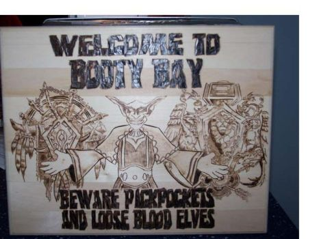 Welcome to Booty Bay by RickBarrs