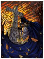 Batman grave commission 2 by RayDillon