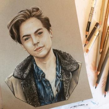 Cole Sprouse by RachelDickison