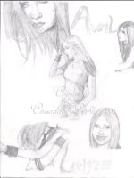 Avril Collage by DarkGirlDrawings