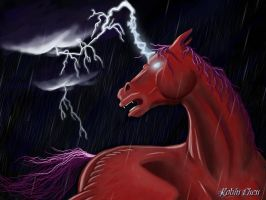 The Bringer of Storms by meihua