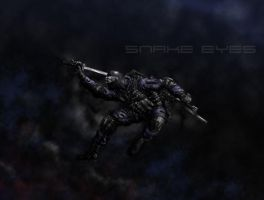 Snake Eyes Colored in by sebadorn