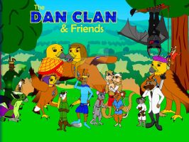 The Dan Clan - Group Pic by DCLeadboot