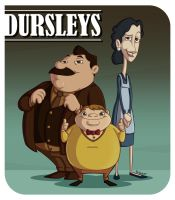 Los Dursleys by acenco