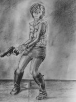 Silent Hill 3 Drawing by DiegoE05