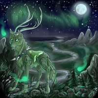 Forest Spirits by EncryptedMessage