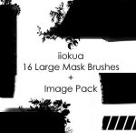 16 Large Mask Brushes by iiokua