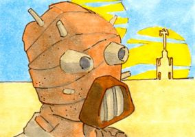 00 Sand Person by Pencilbags