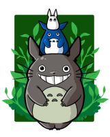 Totoro pole by cclb