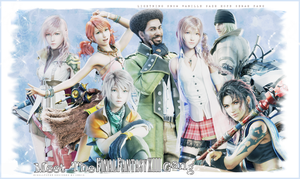 Meet the REAL FFXIII gang by OmniaMohamedArt