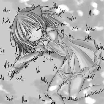 Sleeping girl by Kudo008