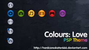 Colours: Love - PSP Theme by HardcoreSkater666
