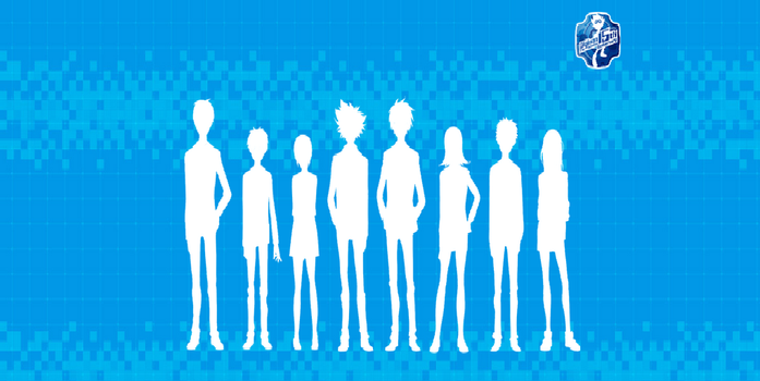 New Digimon Cast Silhouette!! by theundertakerwwe19-0