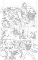 Mighty Avengers Portfolio Page 3 by VictorMV