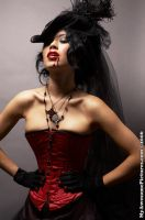 Red corset 1 by hellacioushannah