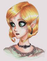Colored elf by oasiswinds