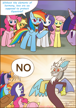 Who's gonna protect Equestria? by HowXu