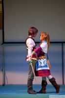 Zelda and Link from Skyward Sword 2 by memoire-hana