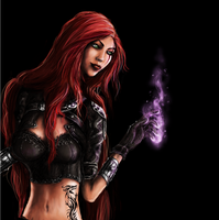 LoL | Katarina *edited* by Zusacre