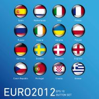 Euro2012 Button Set by Ikrus