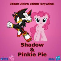 Shadow and Pinkie Pie by Nightfire3024