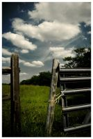 Country Fence by Konijntje