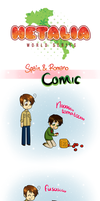 Hetalia - Spain and Romano by Noanja