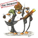 The penguins are psycotic... by erlkoenig